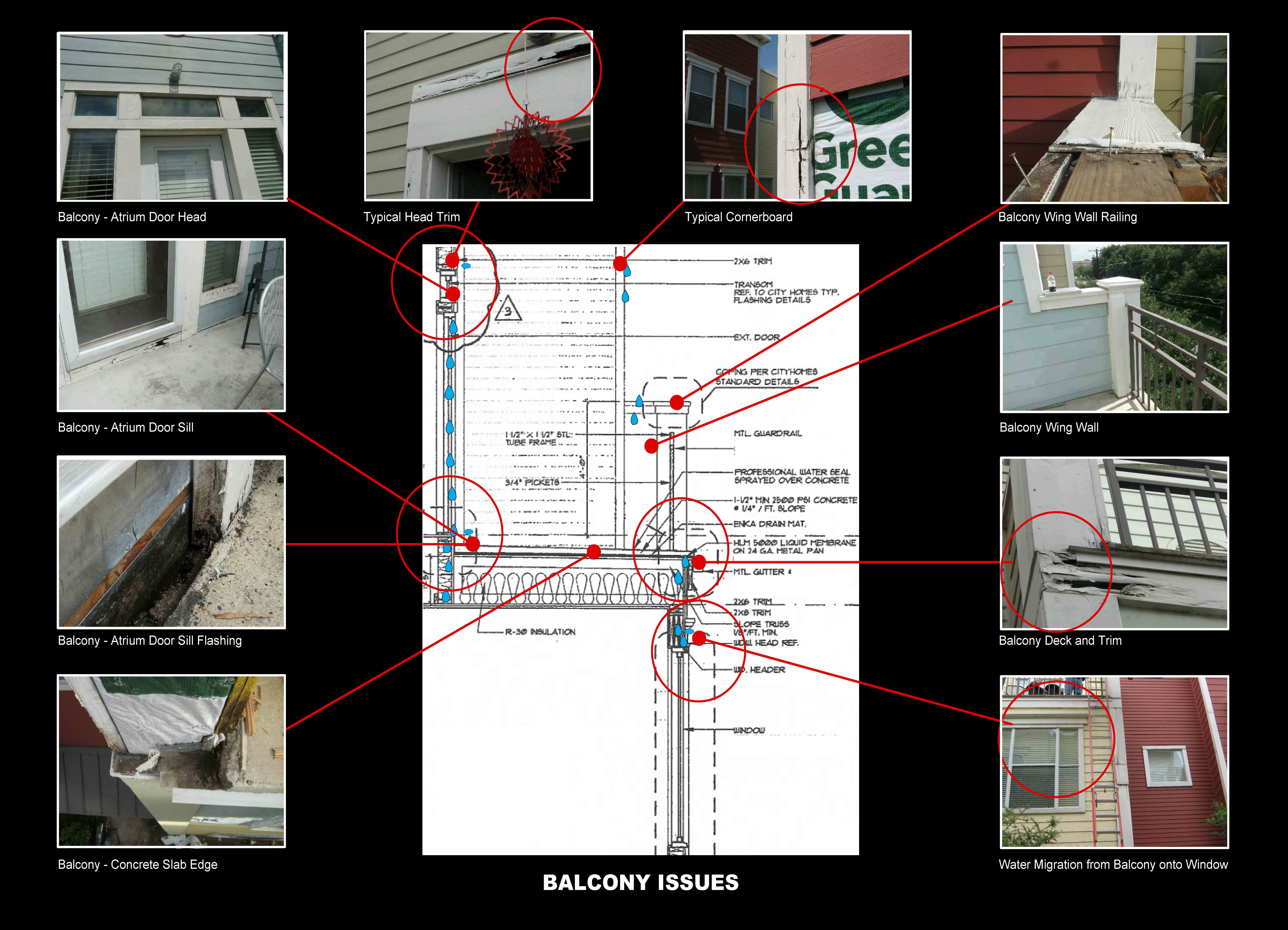 Common Balcony Issues: Water Intrusion Due to Construction Defects